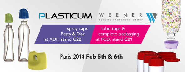 Weener and Plasticum exhibit in Birmingham and Paris in 2014